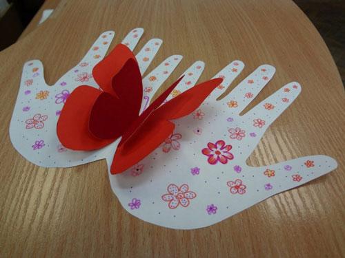 поделки ко Дню матери в детском саду 3
