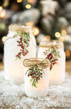 новогодние свечи своими руками идеи 4