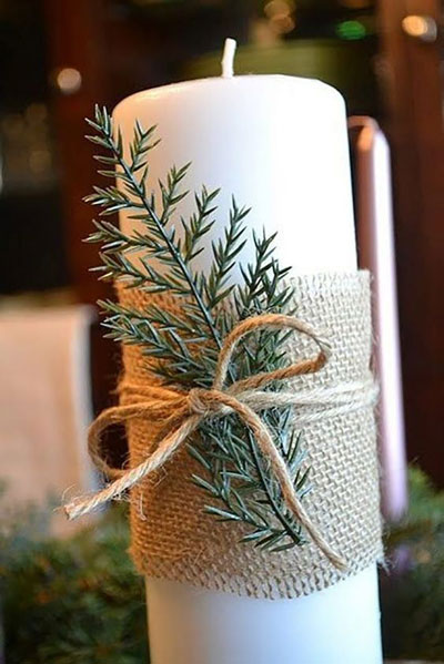 новогодние свечи своими руками мастер класс в домашних условиях 10