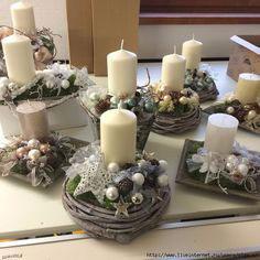 новогодние свечи своими руками мастер класс в домашних условиях 9