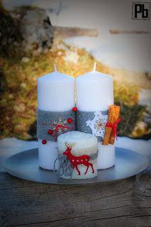 новогодние свечи своими руками мастер класс в домашних условиях 5