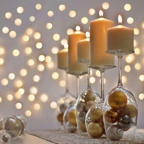 новогодние свечи своими руками мастер класс 10