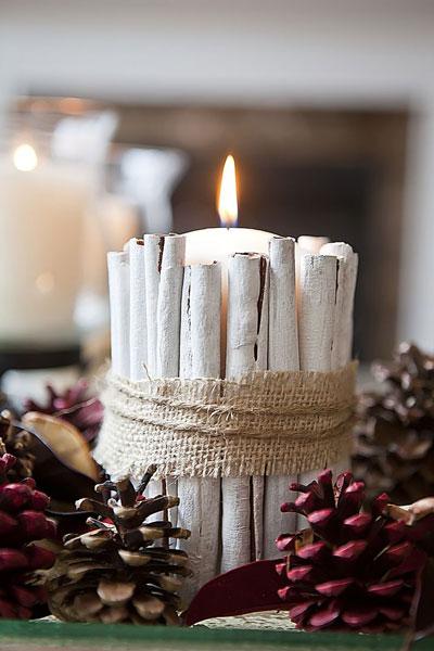 новогодние свечи своими руками мастер класс 8