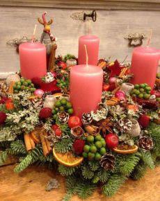 новогодние свечи своими руками идеи 8