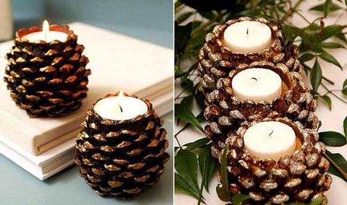 новогодние свечи своими руками идеи 7