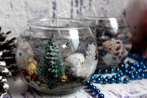 новогодние свечи своими руками фото 8