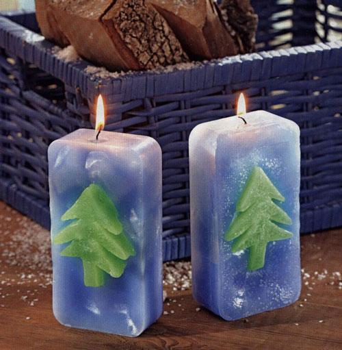 новогодние свечи своими руками фото 7