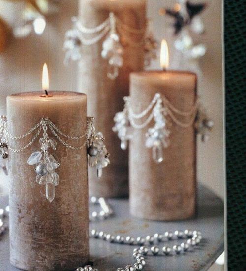 новогодние свечи своими руками фото 6