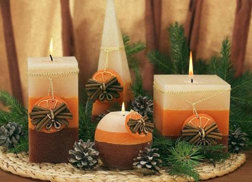 новогодние свечи своими руками фото 5