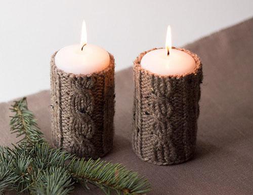 новогодние свечи своими руками фото 3