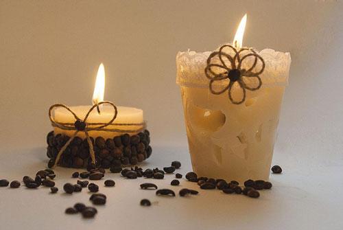 свечи своими руками на новый год в домашних условиях 7