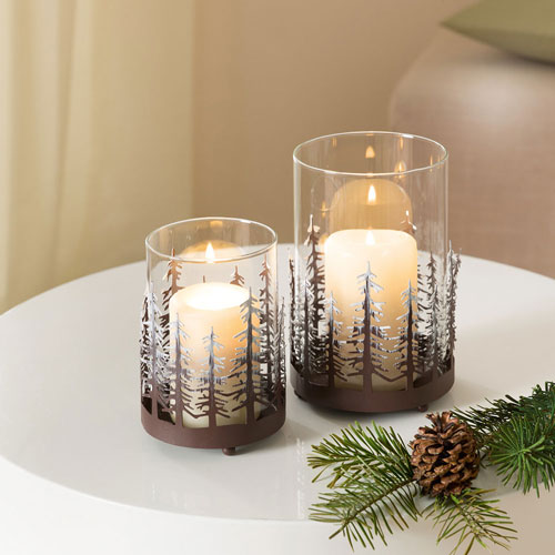 новогодние композиции со свечами в домашних условиях своими руками 6