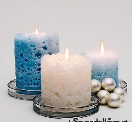 новогодние композиции со свечами в домашних условиях своими руками 3