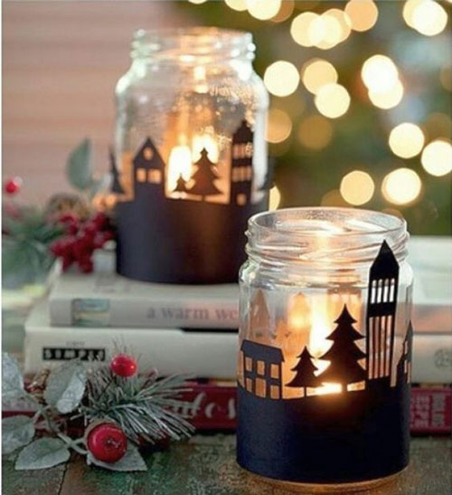 новогодние композиции со свечами в домашних условиях своими руками 2
