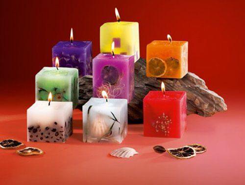 новогодние композиции со свечами в домашних условиях 10