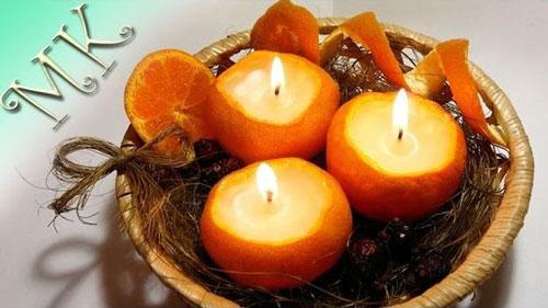 новогодние композиции со свечами в домашних условиях 9