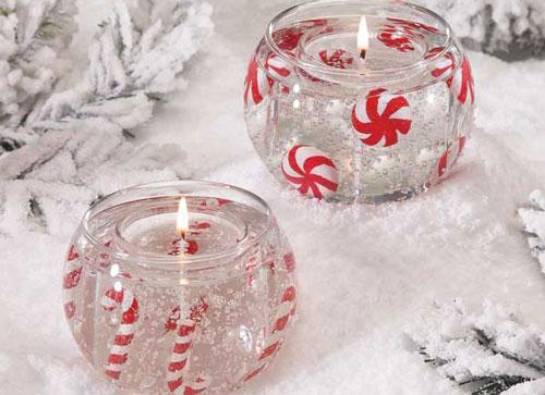 новогодние свечи своими руками мастер класс