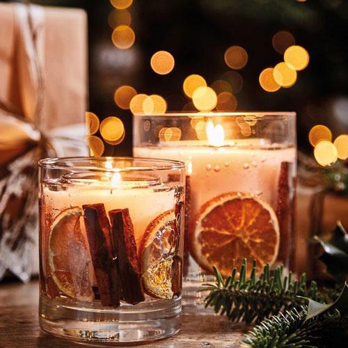 новогодние свечи своими руками фото 9