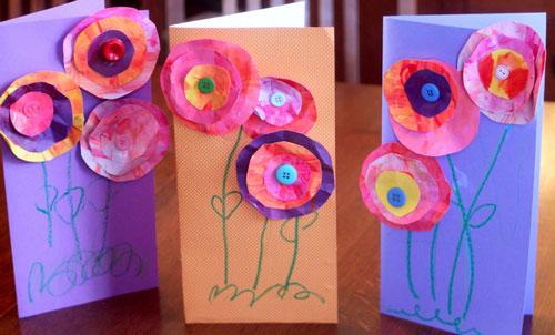 открытка ко дню матери своими руками 2 класс с шаблоном 10