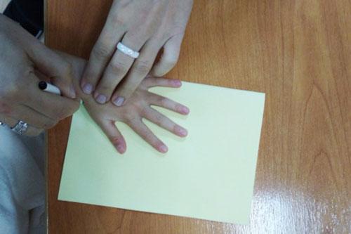 открытка детская своими руками на День матери