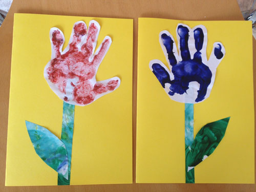 открытка ко дню матери своими руками 2 класс с шаблоном 8