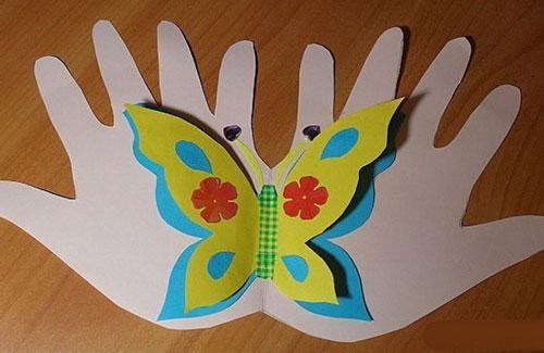 открытка детская своими руками на День матери 4