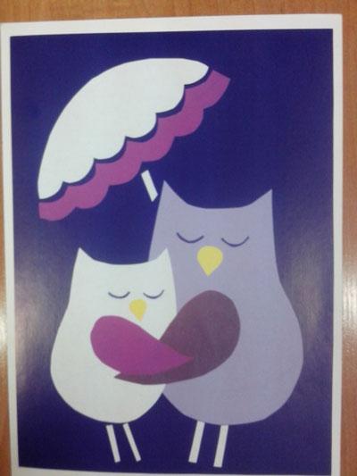 открытка ко дню матери своими руками 2 класс с шаблоном