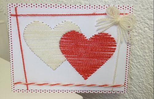 изготовить открытку своими руками к Дню матери 4