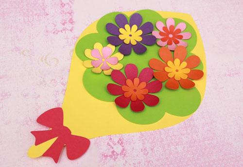 красивая открытка ко дню матери своими руками для начальной школы 8