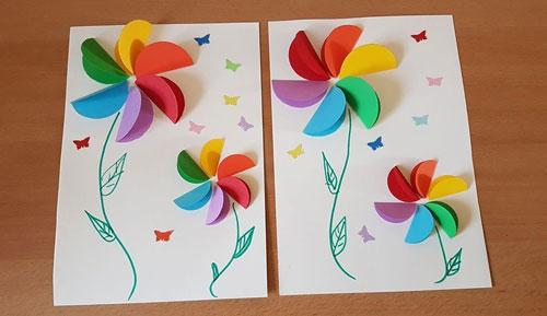 красивая открытка ко дню матери своими руками для начальной школы 7