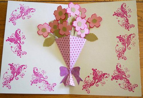 красивая открытка ко дню матери своими руками для начальной школы 6