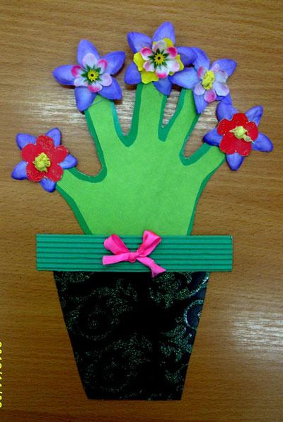 красива открытка ко дню матери своими руками 10