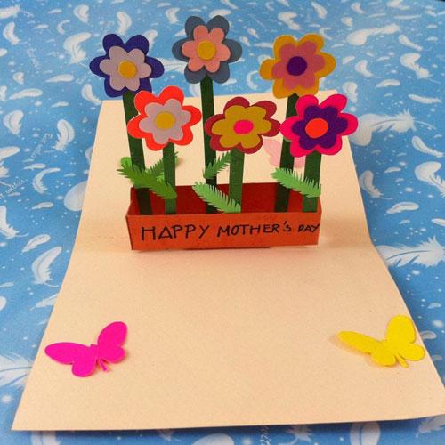 красива открытка ко дню матери своими руками 9