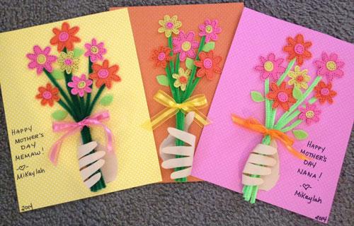 красива открытка ко дню матери своими руками 8