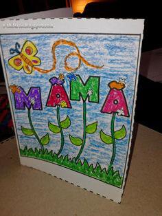 открытка ко дню матери своими руками 1 класс 7
