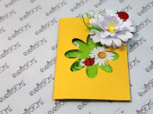 открытка ко дню матери своими руками 1 класс 5