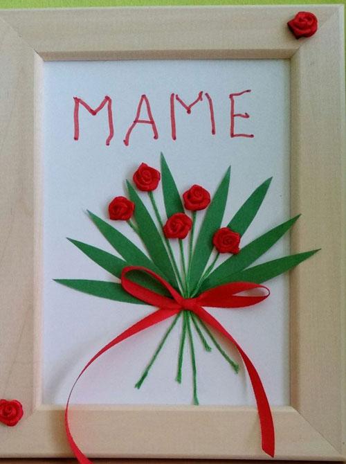 открытка ко дню матери своими руками 3 класс 2