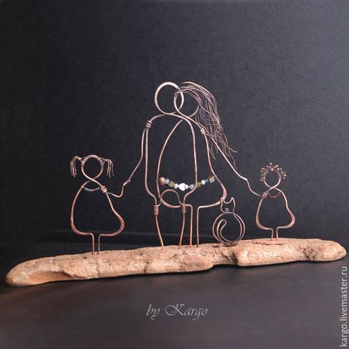 подарки своими руками дошкольниками ко Дню матери 9