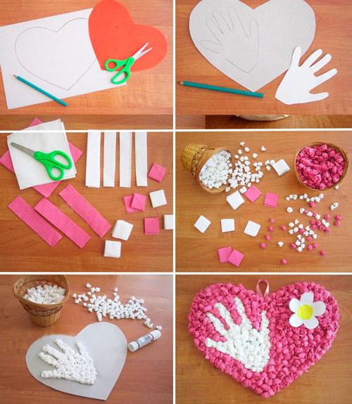 подарки своими руками дошкольниками ко Дню матери 3