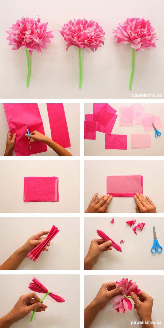 Идеи поделок из бумаги на День матери 3