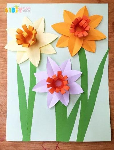поделки из бумаги ко дню матери в начальной школе своими руками