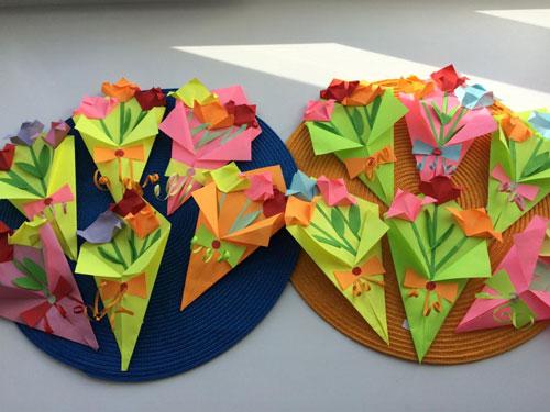поделки из бумаги к дню матери для 1 класса 8