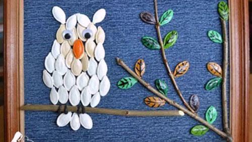 Поделки из природного материала для детей 4 лет на тему Золотая осень