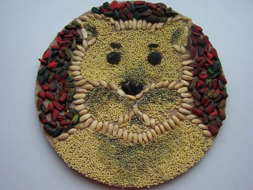 Поделки из природного материала для детей 6 лет на тему Золотая осень