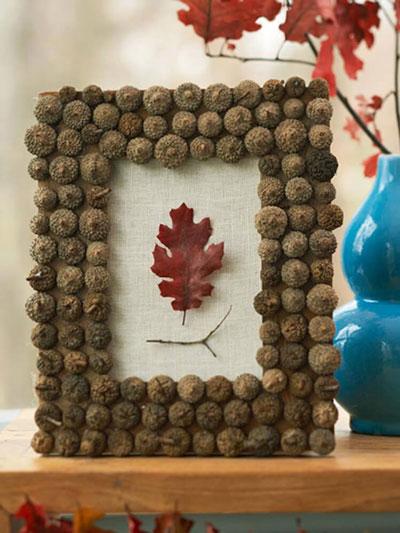Поделки из природного материала для детей 7 лет на тему Золотая осень