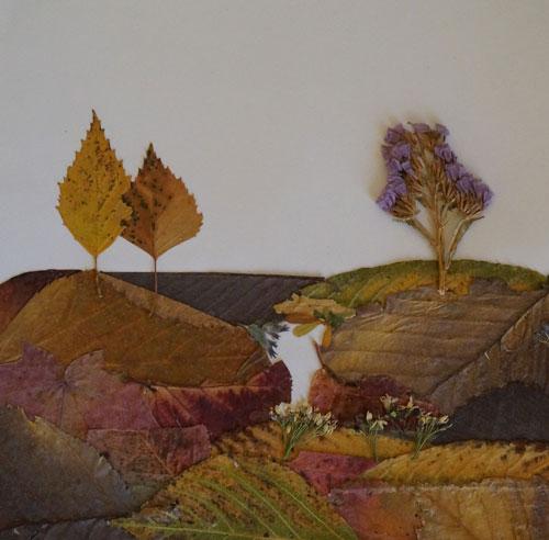 поделки из природного материала на тему золотая осень для детского сада 3