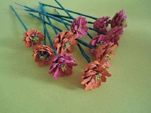 поделки из природного материала на тему золотая осень в детском саду старшая группа 3