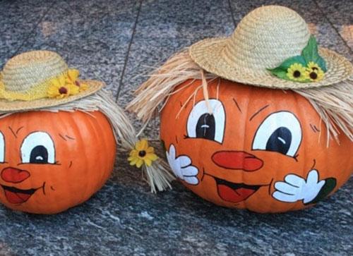 детские поделки из природного материала на тему Золотая осень 6