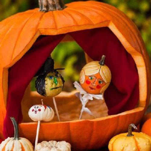 Поделки из природного материала для детей на тему Золотая осень 2