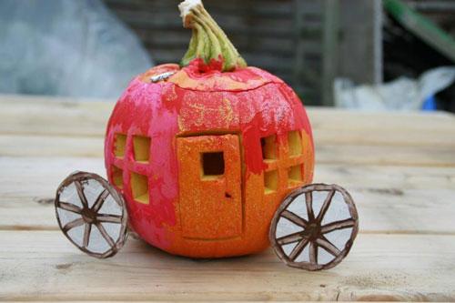 Поделки из природного материала для детей на тему Золотая осень 4